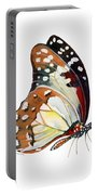 102 Perched White Lady Butterfly Portable Battery Charger by Amy Kirkpatrick