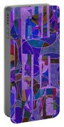 1022 Abstract Thought Portable Battery Charger