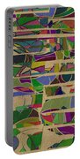 1023 Abstract Thought Portable Battery Charger