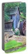 Sixes Mill On Dukes Creek - Square Portable Battery Charger