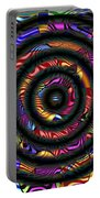 1043 Abstract Thought Portable Battery Charger