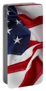 American Flag 34 Portable Battery Charger