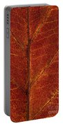 Dogwood Leaf Backlit Portable Battery Charger
