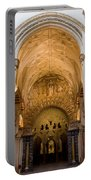 Mezquita Cathedral Interior In Cordoba Portable Battery Charger