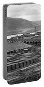 Panama Canal, C1910 Portable Battery Charger