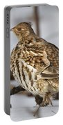 Ruffed Grouse Portable Battery Charger