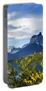 Springtime In Torres Del Paine Portable Battery Charger