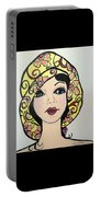 Flapper Girl Claire Portable Battery Charger