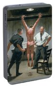 12. Jesus Is Beaten / From The Passion Of Christ - A Gay Vision Portable Battery Charger