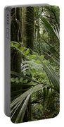 Jungle Leaves Portable Battery Charger
