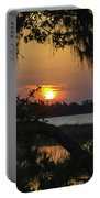 Lowcountry Spanish Moss Sunset Portable Battery Charger