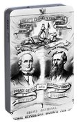 Presidential Campaign, 1872 Portable Battery Charger
