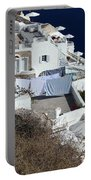 Views From Santorini Greece Portable Battery Charger