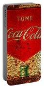 Coca Cola Classic Vintage Rusty Sign Portable Battery Charger
