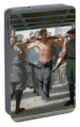 13. Jesus Goes To His Execution / From The Passion Of Christ - A Gay Vision Portable Battery Charger