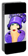 Art Deco Milly Portable Battery Charger
