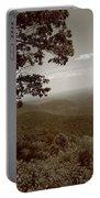 Blue Ridge Mountains - Virginia Sepia 9 Portable Battery Charger