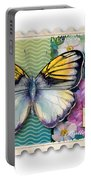 14 Cent Butterfly Stamp Portable Battery Charger