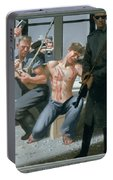 14. Jesus Is Nailed To The Cross / From The Passion Of Christ - A Gay Vision Portable Battery Charger