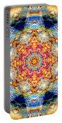 Rainbow Light Mandala Portable Battery Charger