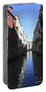 Narrow Canal Venice Italy Portable Battery Charger