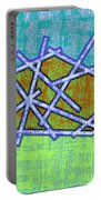 1455 Abstract Thought Portable Battery Charger