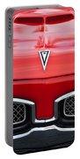 1967 Pontiac Gto Grille Emblem Portable Battery Charger