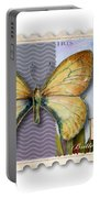 15 Cent Butterfly Stamp Portable Battery Charger