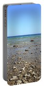 Lake Huron Portable Battery Charger by Frank Romeo