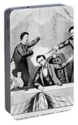 Lincoln Assassination Portable Battery Charger