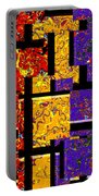 1517 Abstract Thought Portable Battery Charger