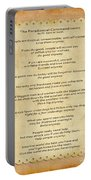 159- The Paradoxical Commandments Portable Battery Charger