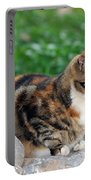 Cat In Hydra Island Portable Battery Charger