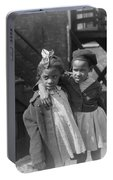 Chicago Children, 1941 Portable Battery Charger