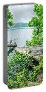 Lake Santeetlah In Great Smoky Mountains North Carolina Portable Battery Charger