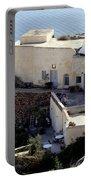 Views Of Santorini Greece Portable Battery Charger