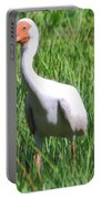 White Ibis Portable Battery Charger