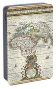 1650 Jansson Map Of The Ancient World Portable Battery Charger
