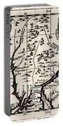 1690 Pennsylvania Map Portable Battery Charger