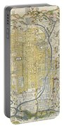 1696 Genroku 9 Early Edo Japanese Map Of Kyoto Japan Portable Battery Charger
