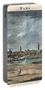 1698 De Bruijin View Of Rama Israel Palestine Holy Land Portable Battery Charger