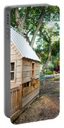 A Backyard Chicken Coop In Austin Portable Battery Charger
