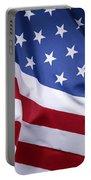Usa Flag Portable Battery Charger