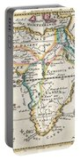 1710 De La Feuille Map Of Africa Portable Battery Charger