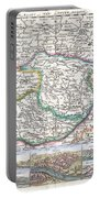 1710 De La Feuille Map Of Transylvania  Moldova Portable Battery Charger
