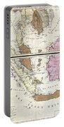 1710 Ottens Map Of Southeast Asia Singapore Thailand Siam Malaysia Sumatra Borneo Portable Battery Charger