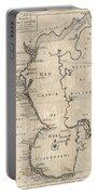 1730 Van Verden Map Of The Caspian Sea Portable Battery Charger