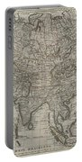 1745 Asia Map Portable Battery Charger