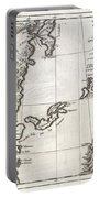 1750 Bellin Map Of The Kuril Islands Portable Battery Charger