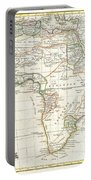 1762 Janvier Map Of Africa Portable Battery Charger